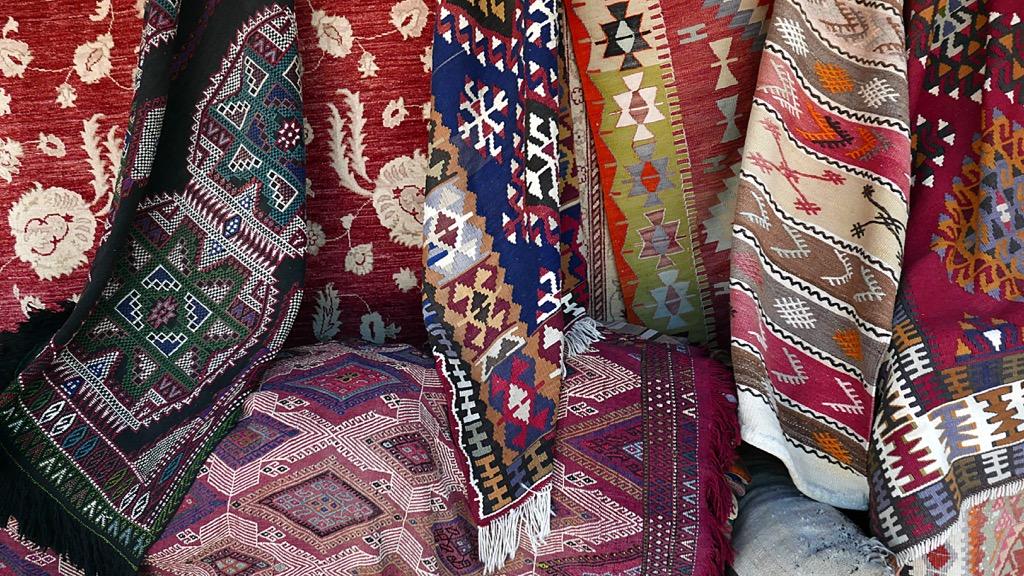 no woman over 40 should have a bad rug