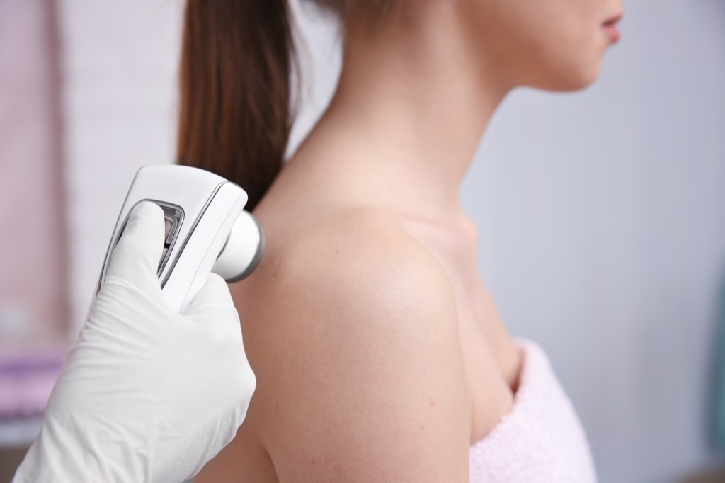 getting moles checked out is one of the worst parts about turning 40