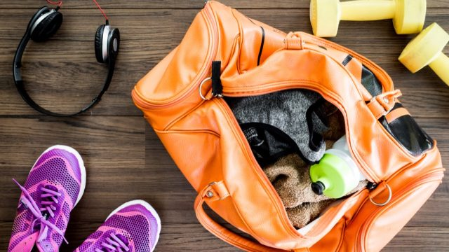 always have your gym bag packed and ready to go