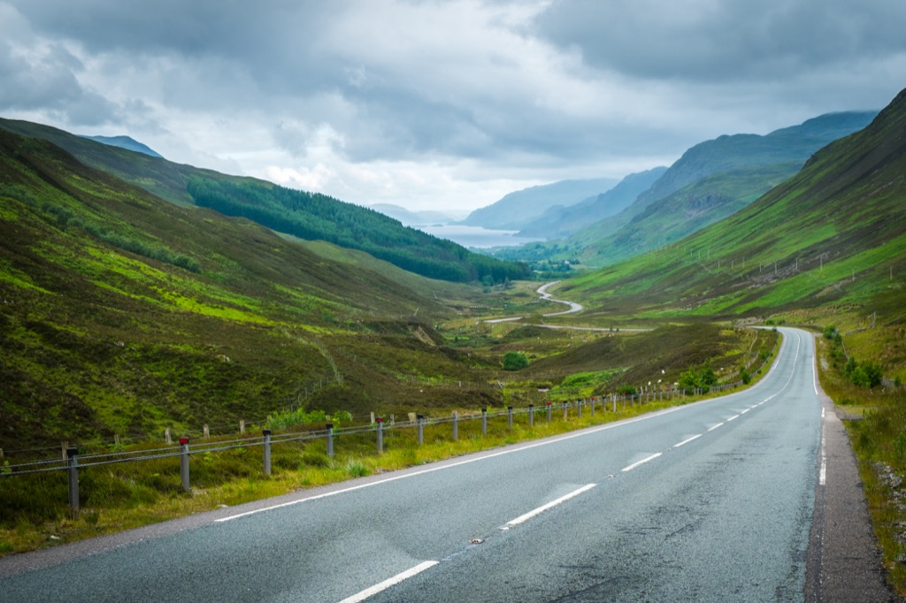 40 roads everyone should drive