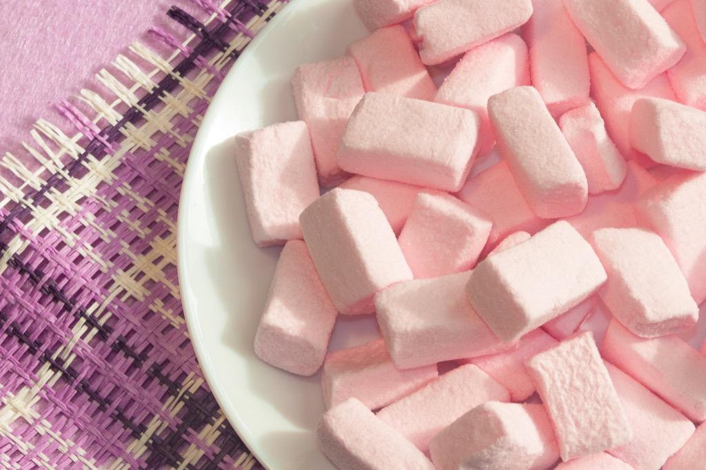 pink marshmallows christmas games