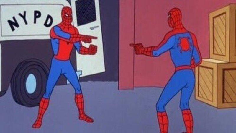 spiderman vs spiderman biggest memes of 2017