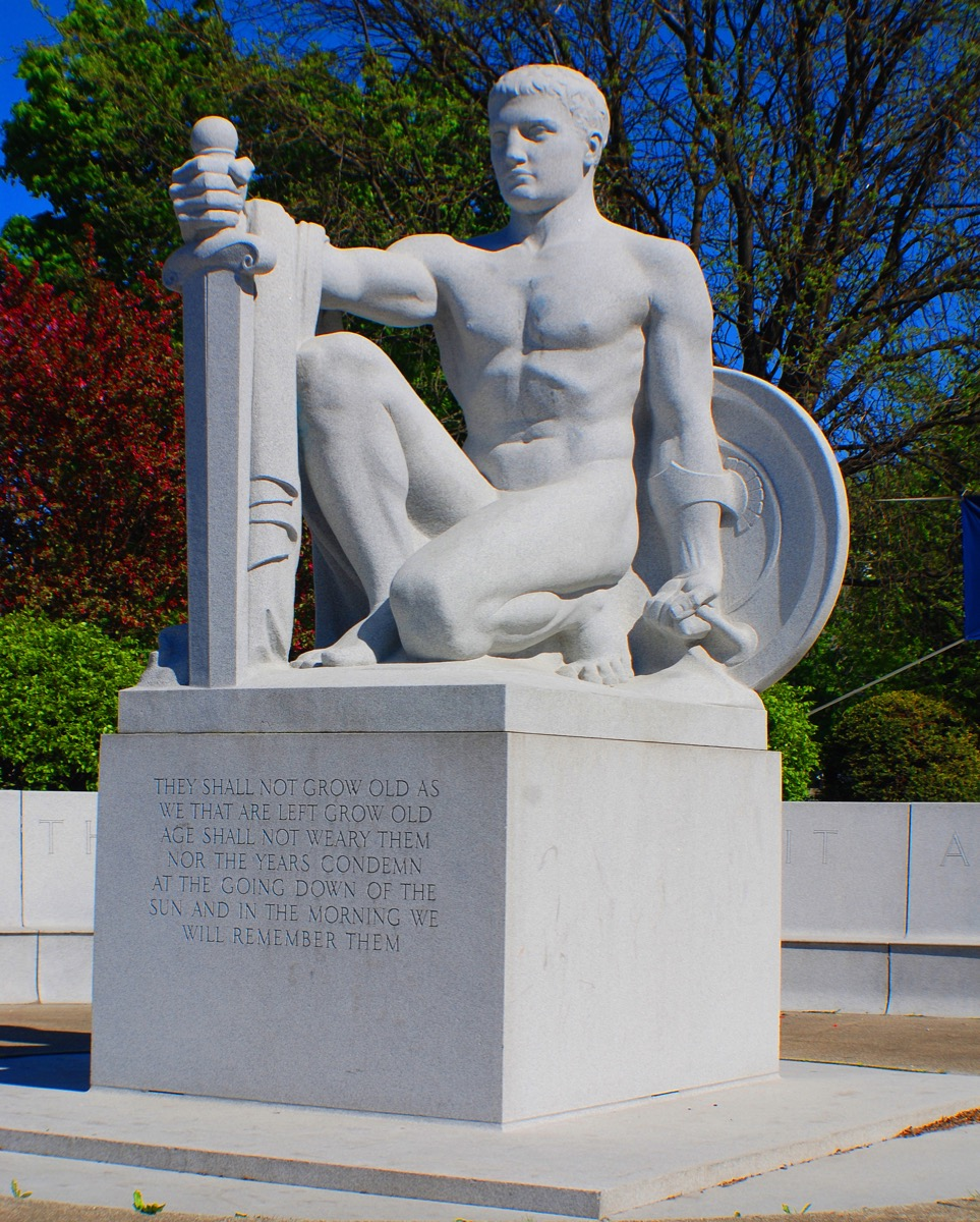 the whispering statue barre vermont