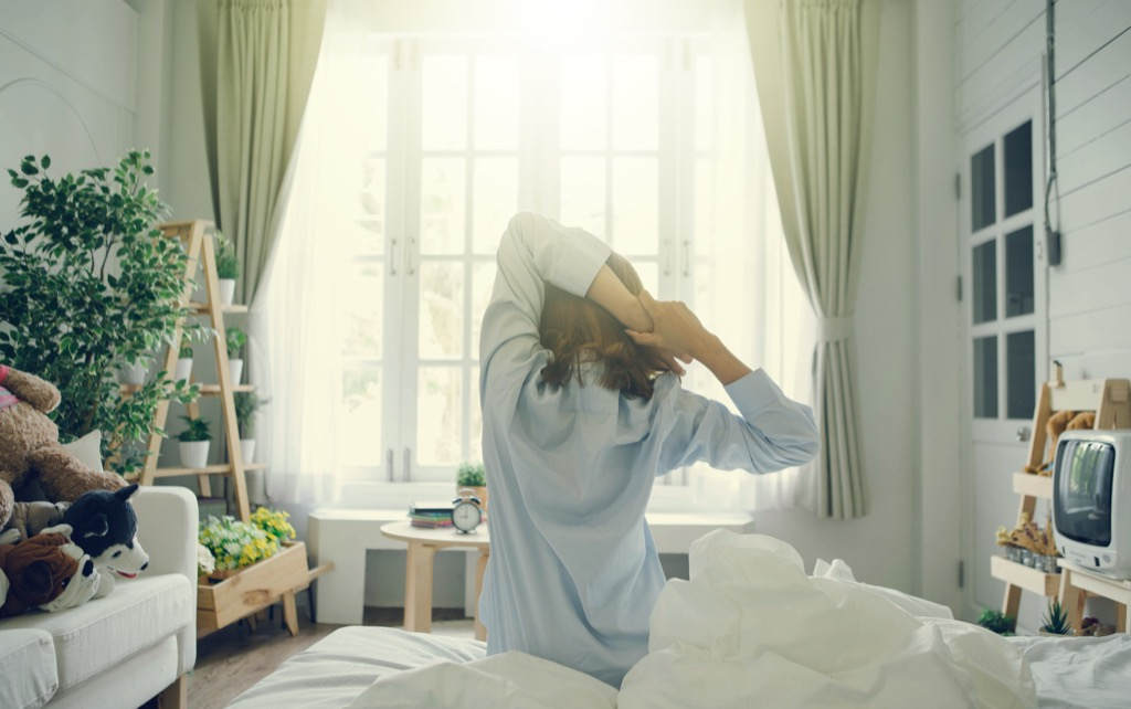 Woman Waking Up Energy After 40