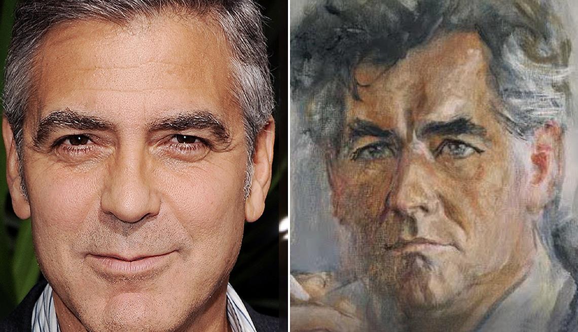George Clooney google arts and culture app