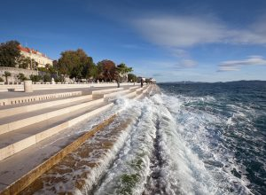 Sea Organ in Zadar, Croatia.