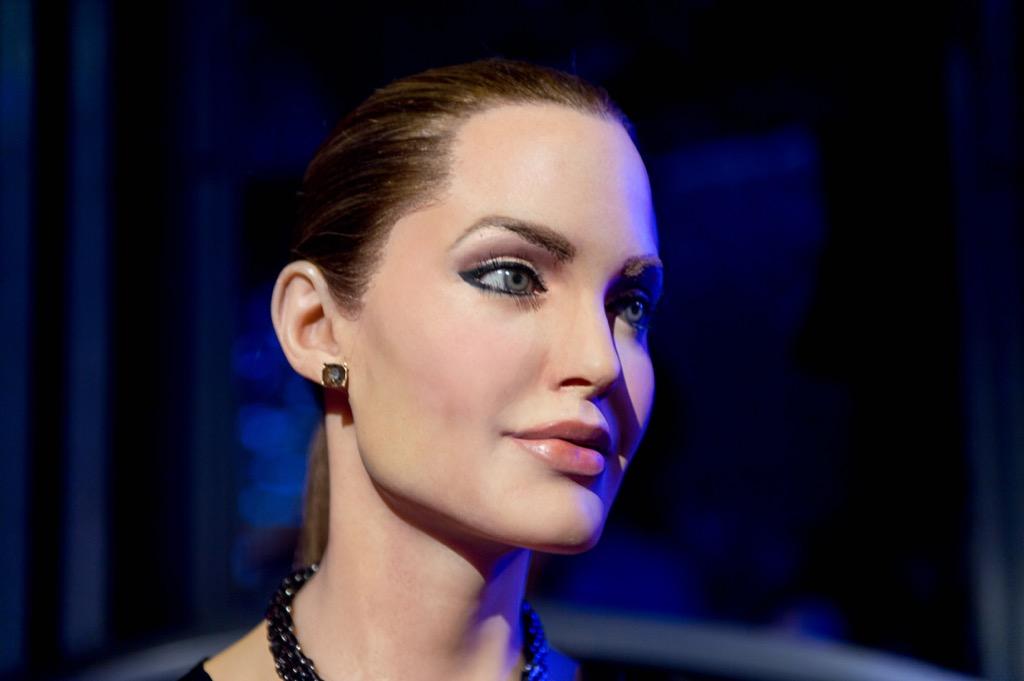 Angelina Jolie Madame Tussauds