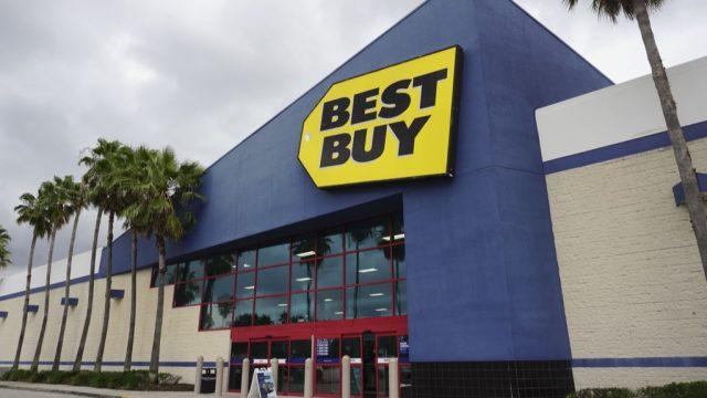 Best Buy exterior