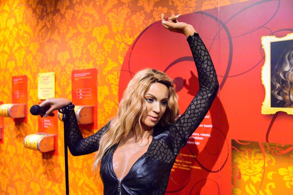 Beyonce Madame Tussauds