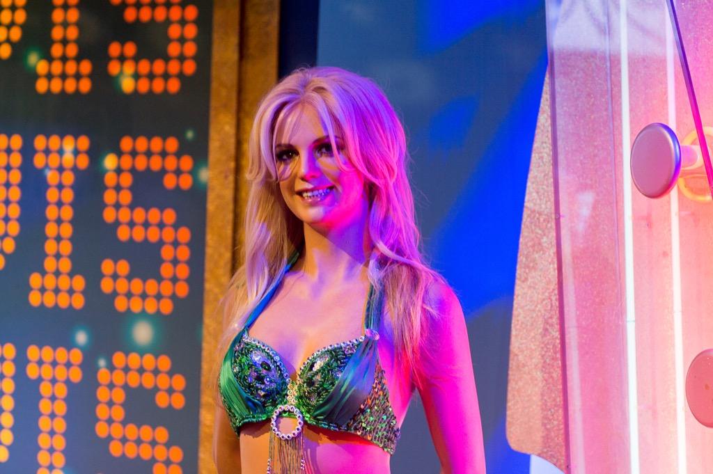 Britney Spears Madame Tussauds