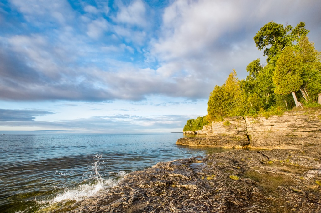 Cave Point Beach, Wisconsin