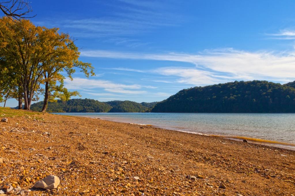 Dale Hollow Lake Beach, Kentucky
