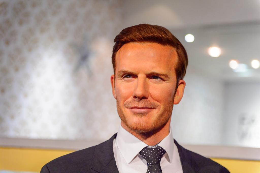 David Beckham Madame Tussauds