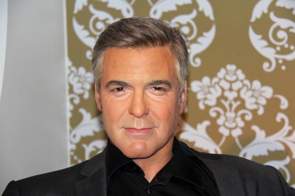 George Clooney Madame Tussauds