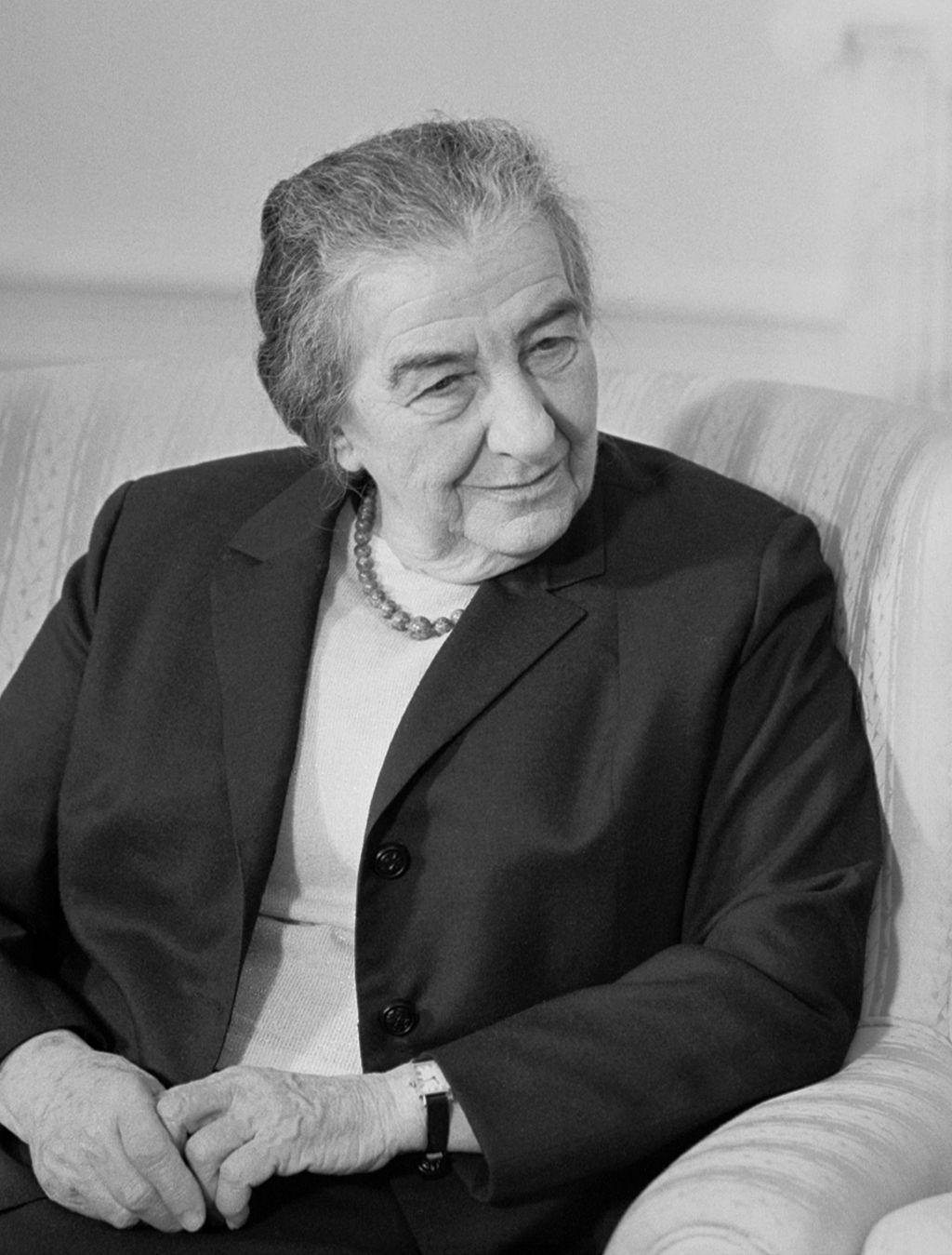 Golda Meir, former Israeli Prime Minister