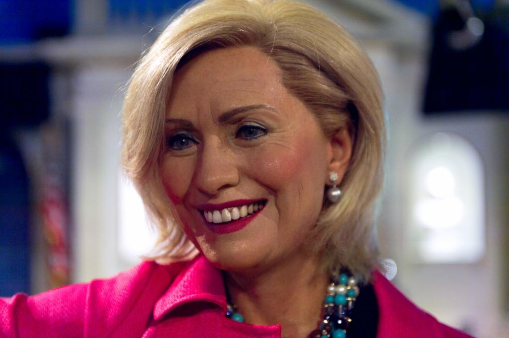 Hillary Clinton Madame Tussauds