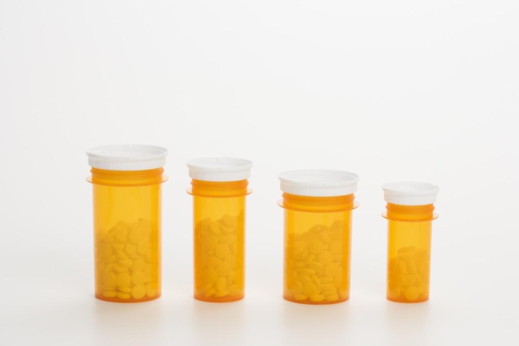 Inverted prescription caps