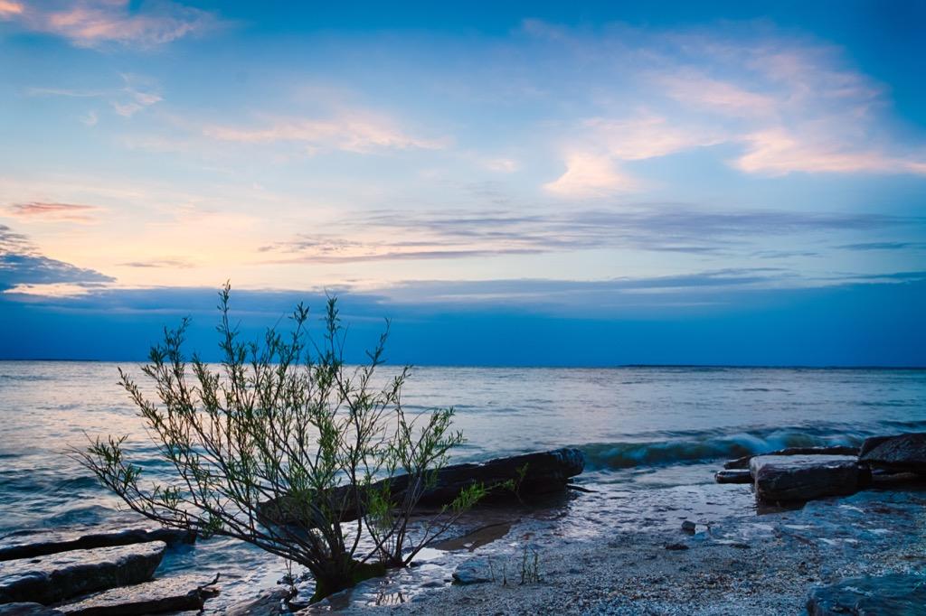 Kelleys Island Beach Ohio beach in winter Best Date Ideas