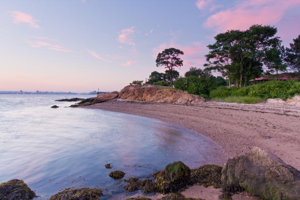 Lighthouse Point Park Beach, Connecticut