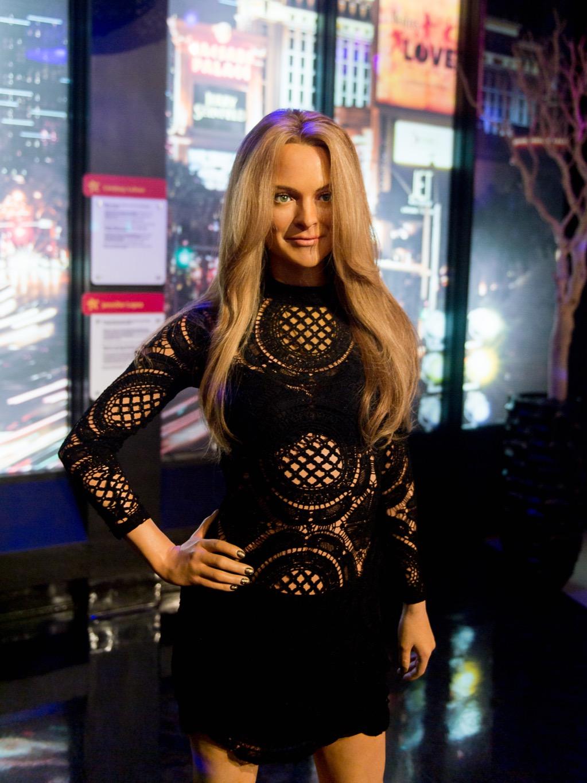 Lindsay Lohan Madame Tussauds