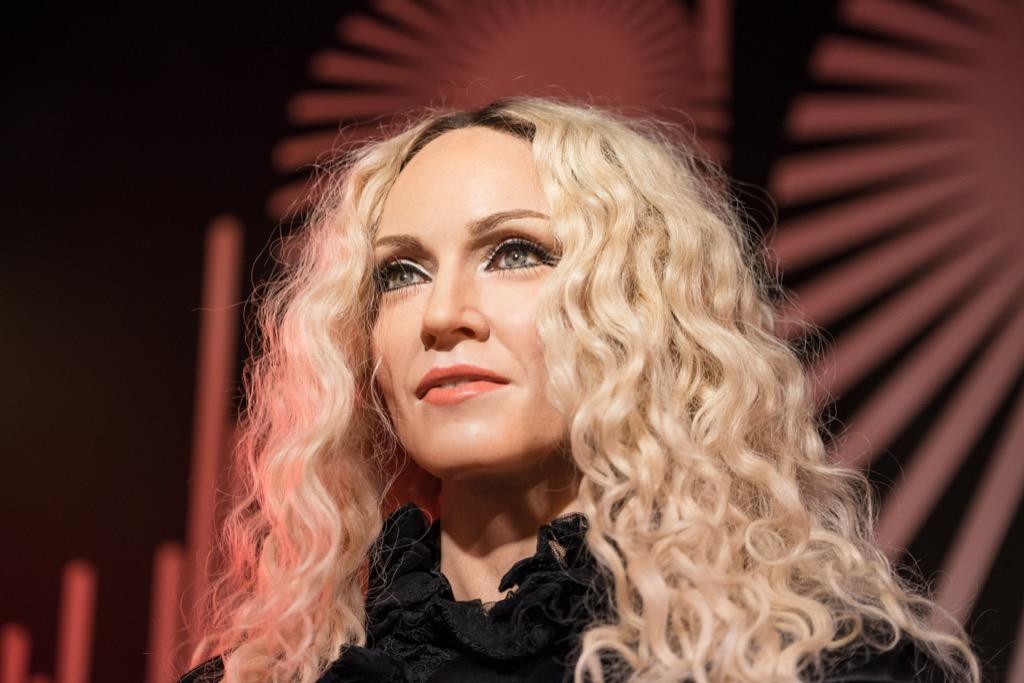 Madonna Madame Tussauds