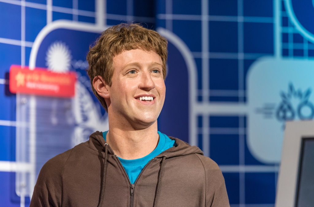 Mark Zuckerberg Madame Tussauds
