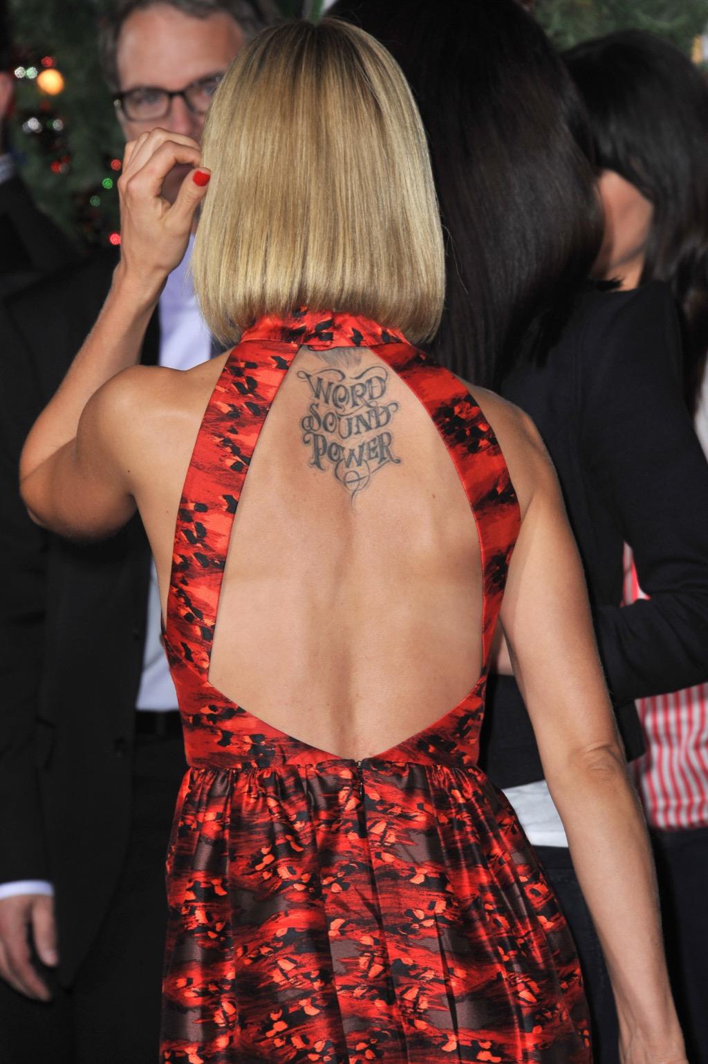 Mena Suvari tattoo