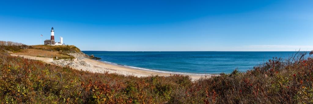 Montauk Point Beach New York