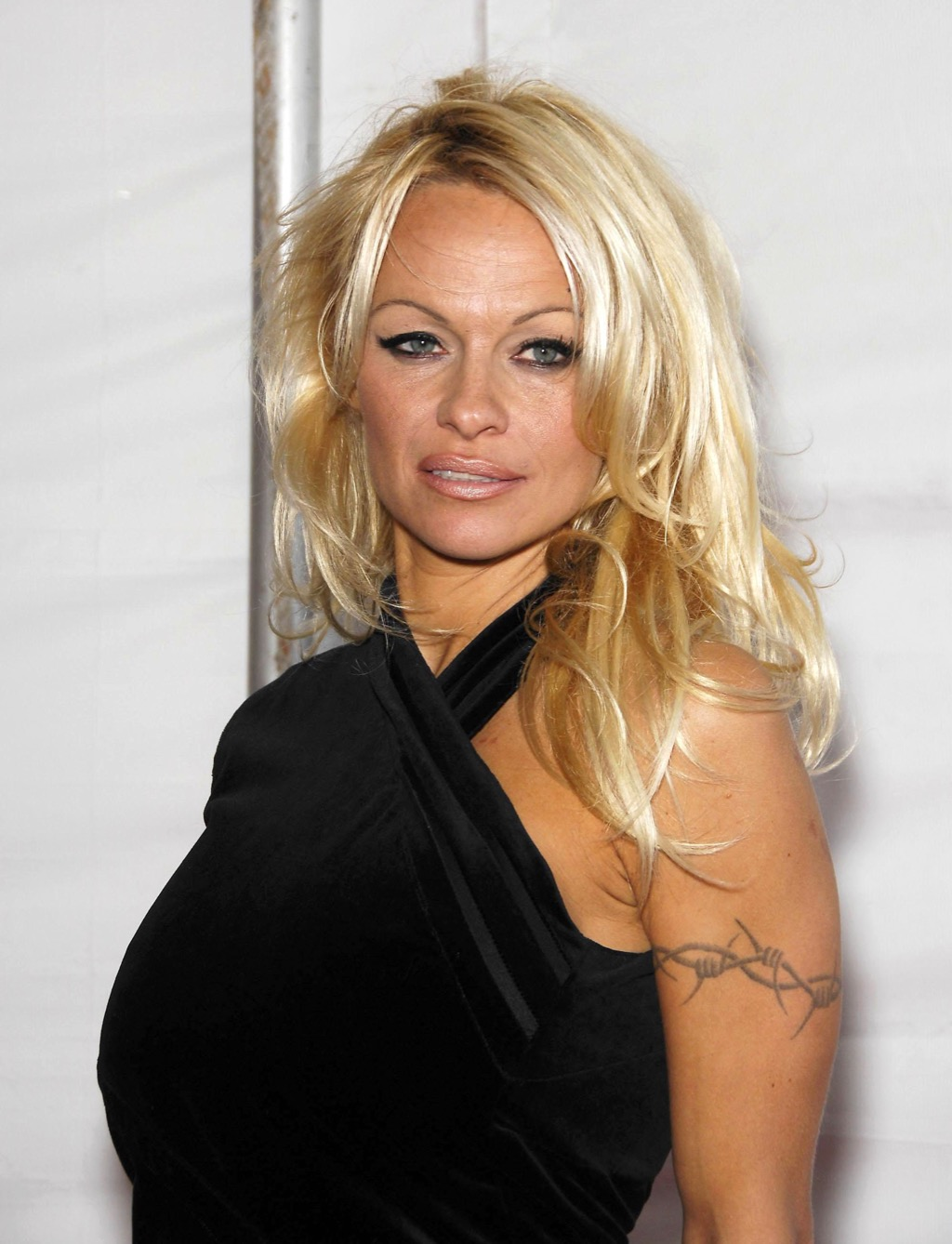 Pamela Anderson barbed wire