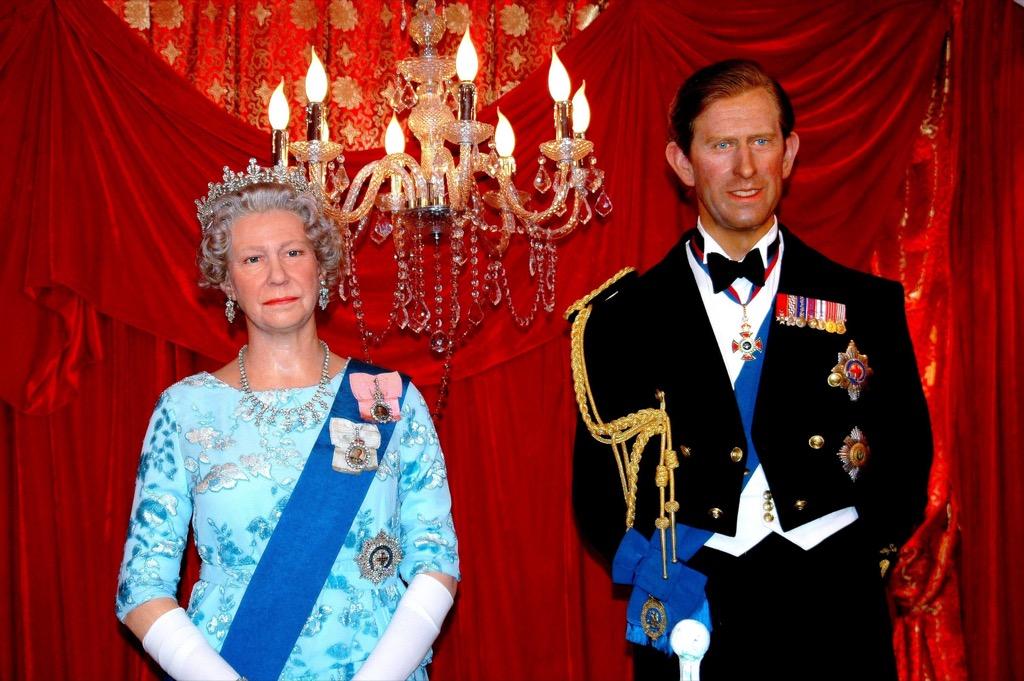 Prince Charles Madame Tussauds