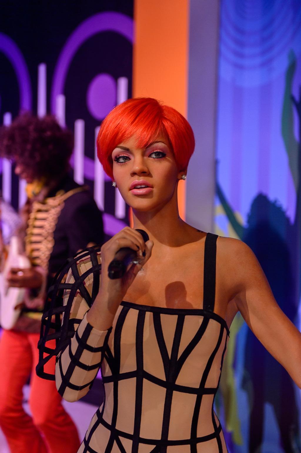 Rihanna Madame Tussauds