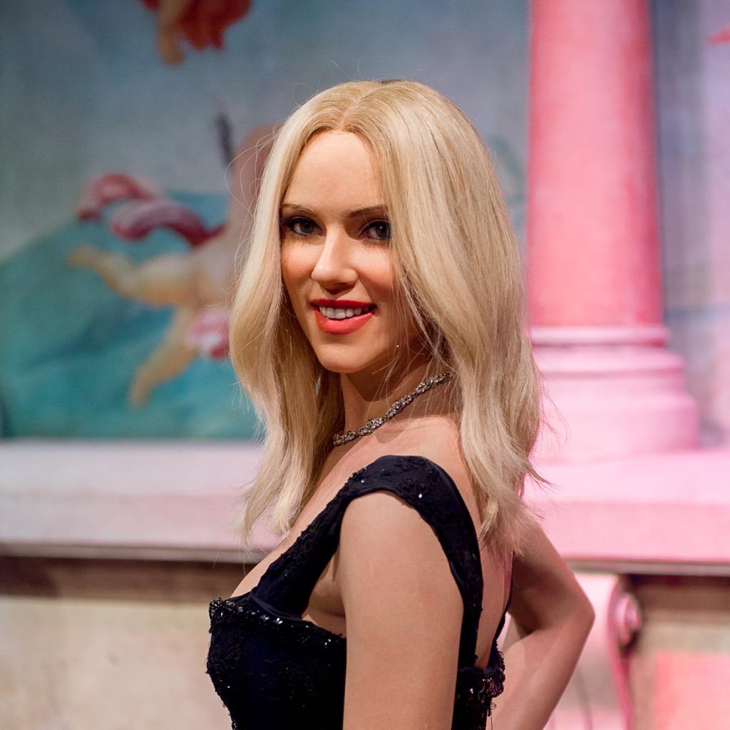 Scarlett Johansson Madame Tussauds