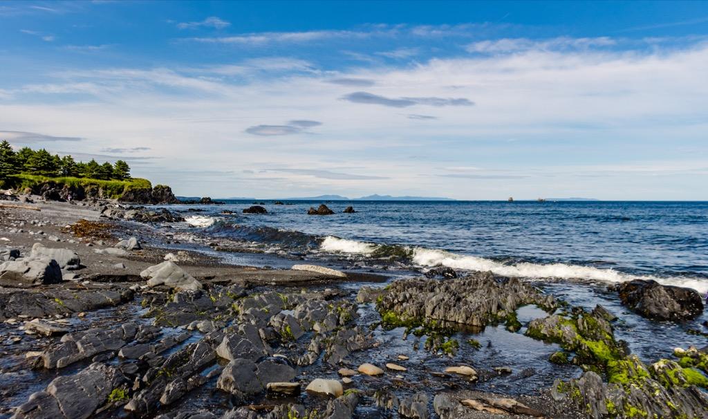 Spruce Cape Beach Alaska
