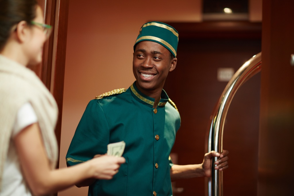 Bellhop Smiling Facts about Life