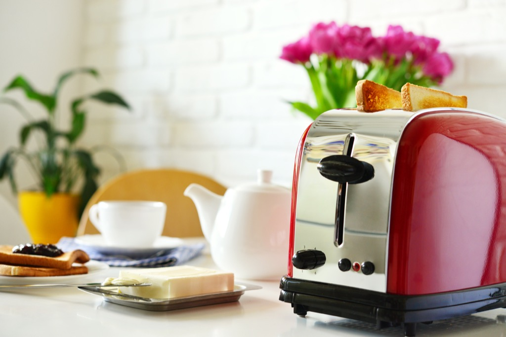 Red toaster, property damage