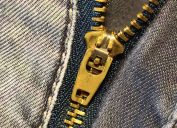 Jeans fly WD40 uses