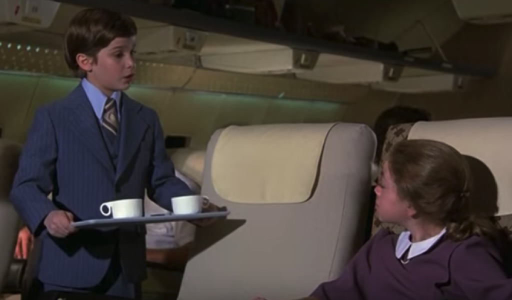 Coffee scene from Airplane