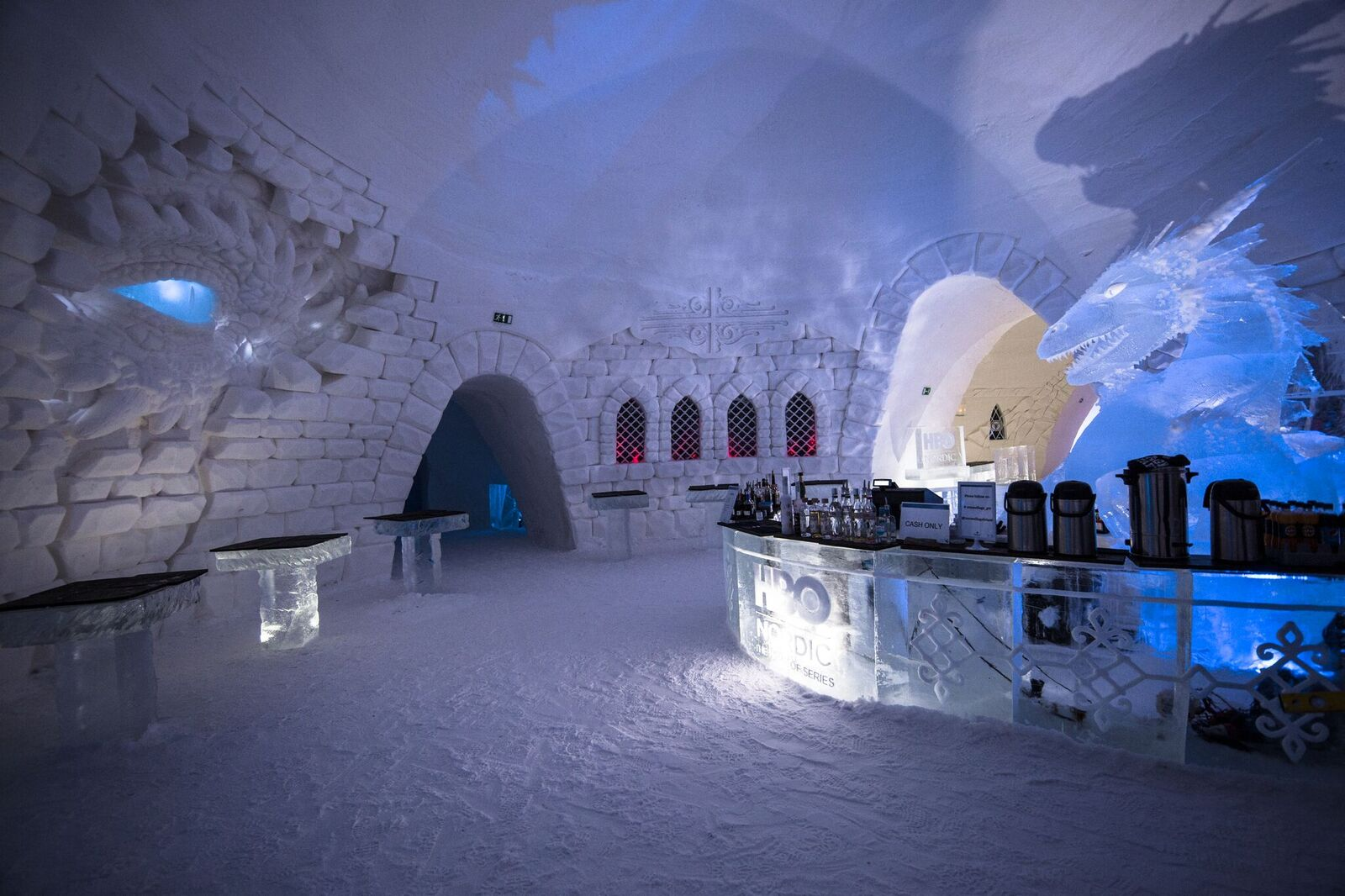 game of thrones hotel bar in finland