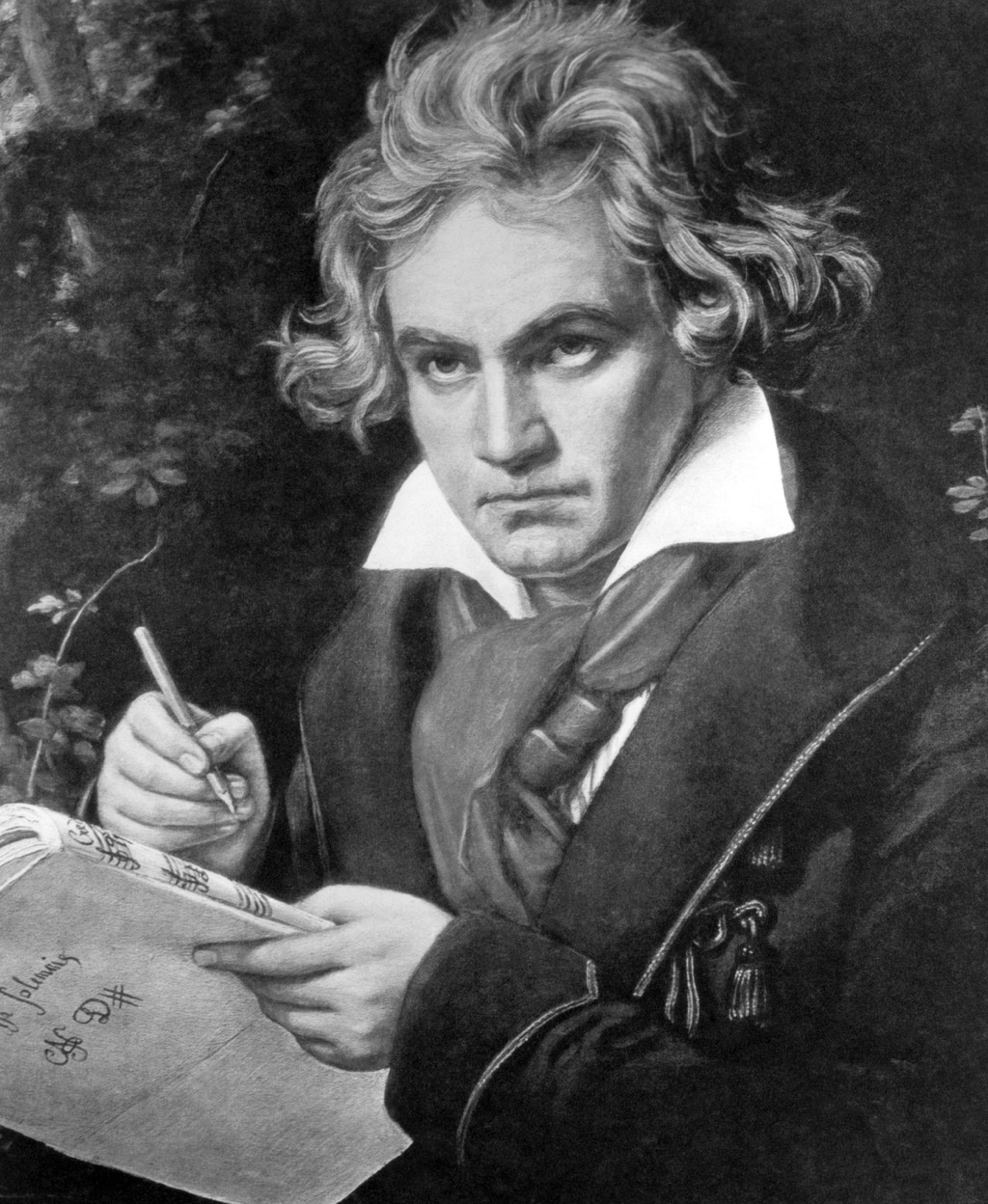 Beethoven, who had a witty put-down