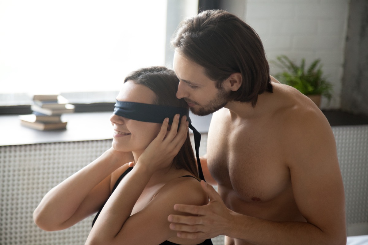best sex games couple blindfolded sex game