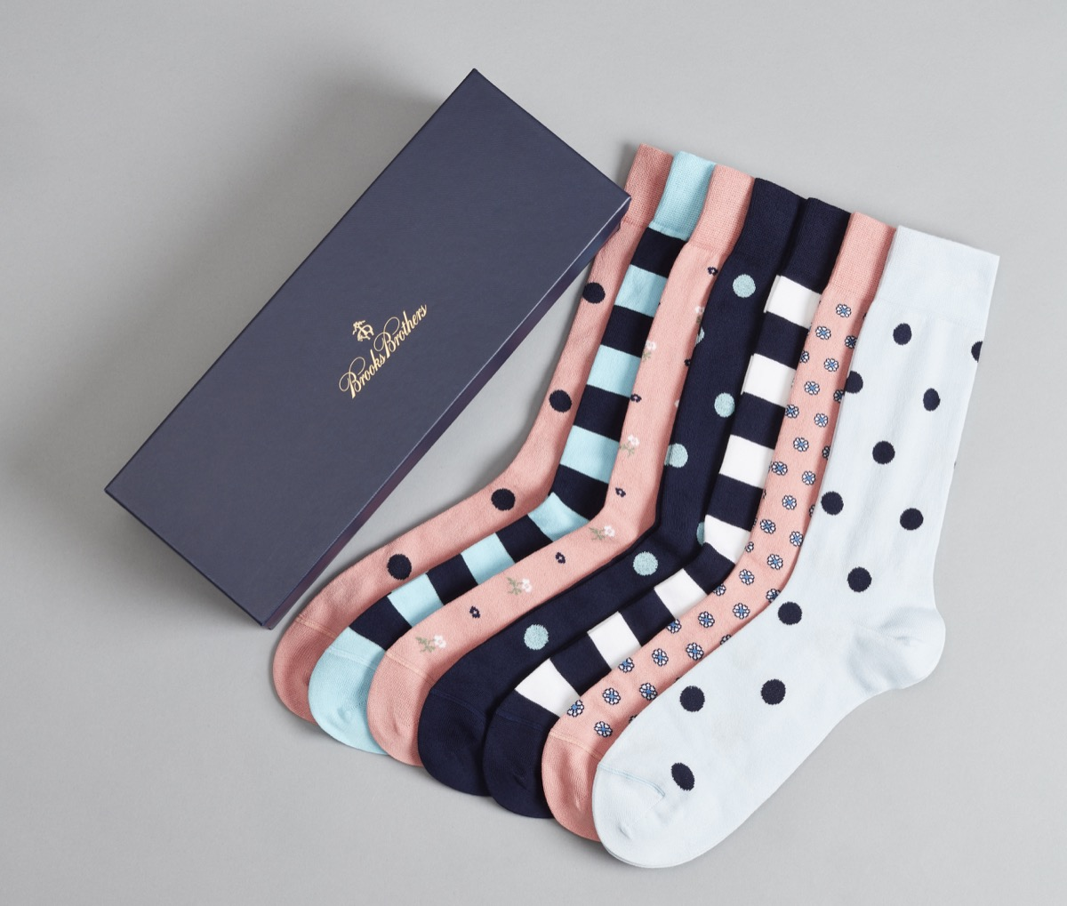 six-sock set from brooks brothers