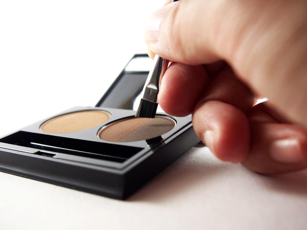 brow powder, makeup for older women