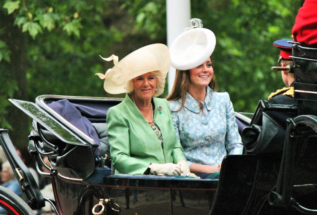 duchess kate middleton in a hat Traditions Royal Brides