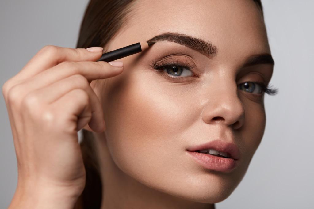 eye brows makeup