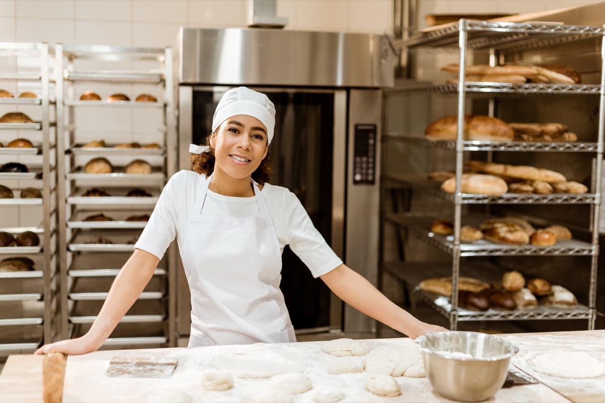 Female chef