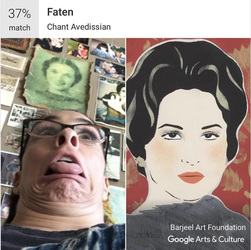 Sarah silverman google arts and culture app