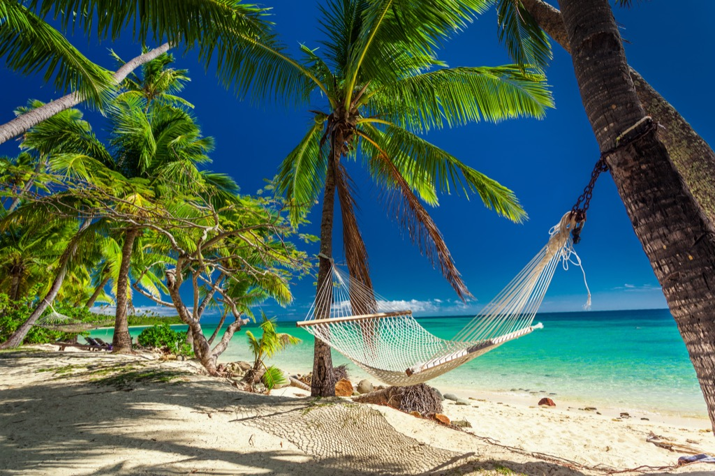 hammock fiji islands countries without clean water