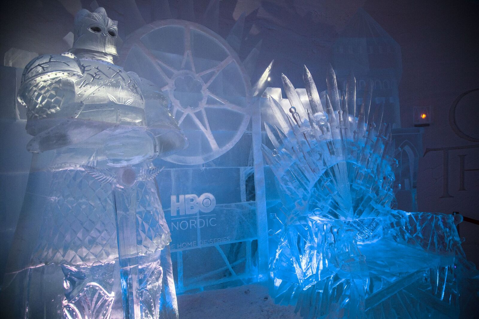 iron throne in game of thrones hotel in finland