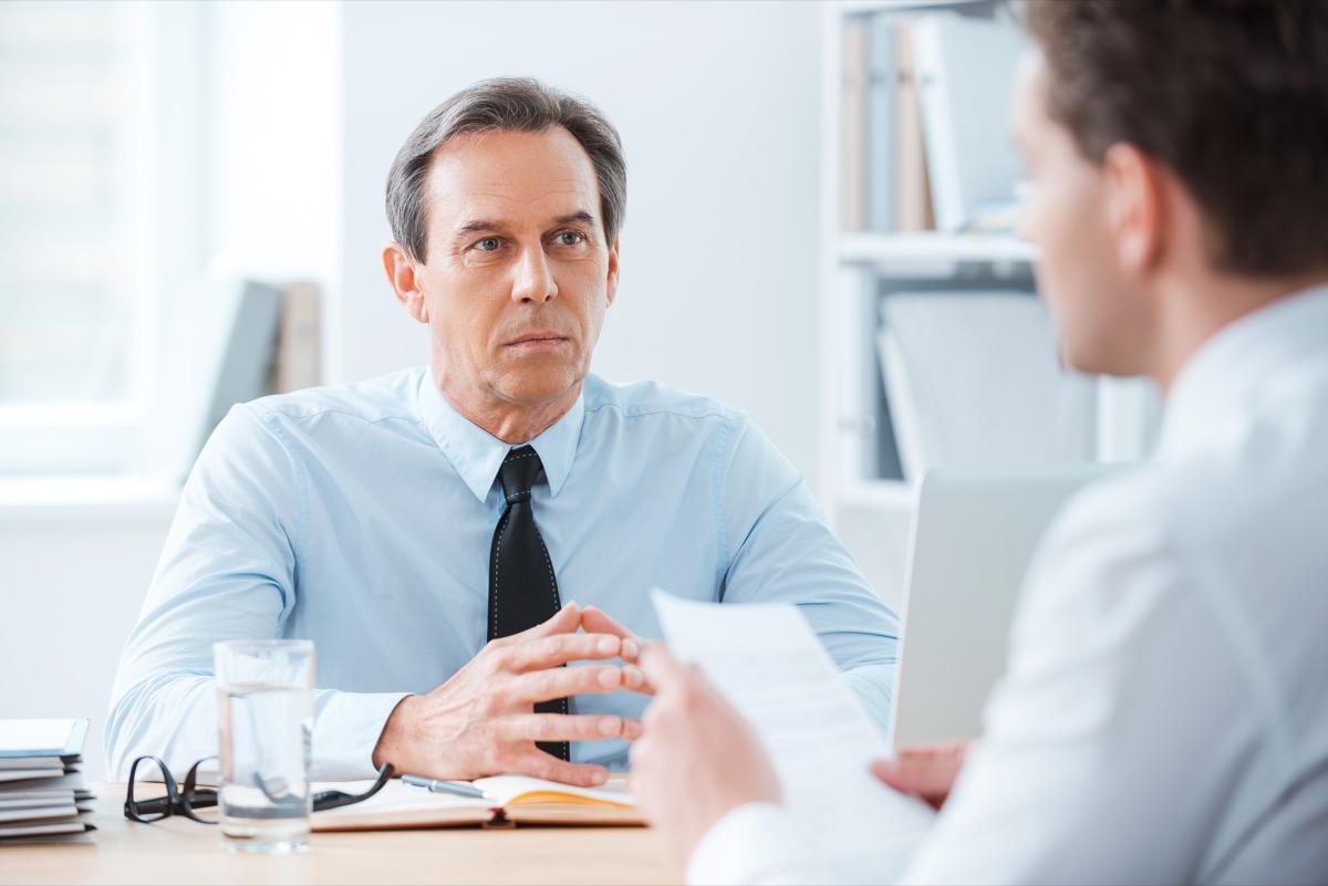 man applying for job, hiring manager tips