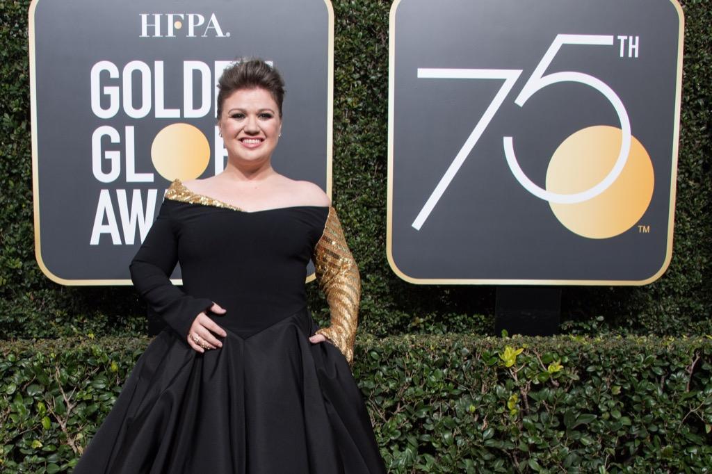 Hollywood Foreign Press Association golden globes kelly clarkson